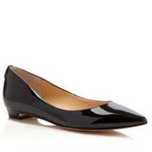 NWT! Ivanka Trump Tizzy Patent Pointed Toe Flats
